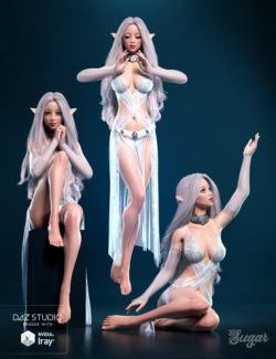 Prisma Angel Poses and Expressions for Genesis 8 Female