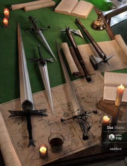 Darque Rose Weapons Collection