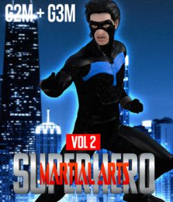SuperHero Martial Arts for G2M and G3M Volume 2