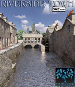Riverside Town for Daz Studio