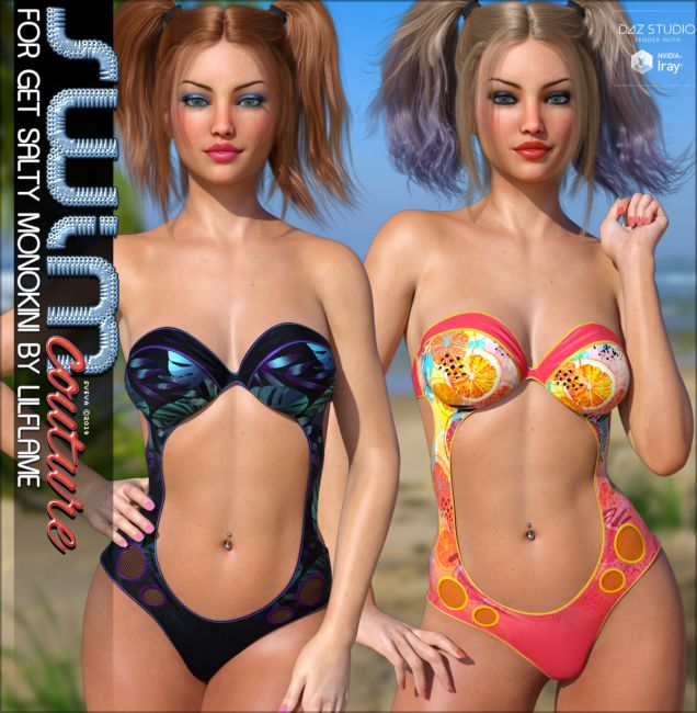 SWIM Couture for Get Salty Monokini G8F