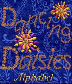 Harvest Moons Dancing Daisies Alphabet