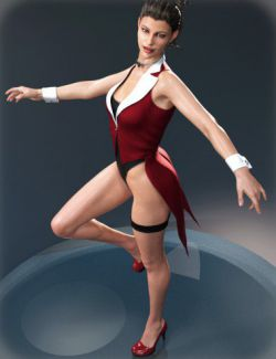 Show Girl Costume for Genesis 8 Female(s)