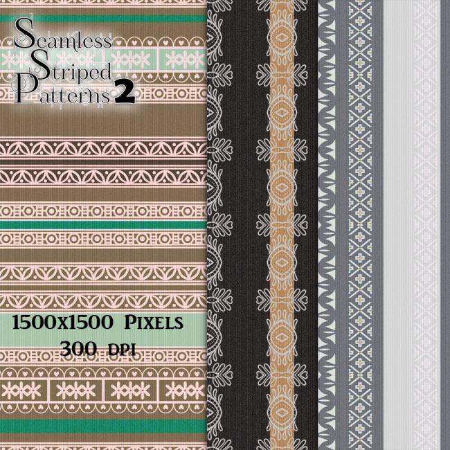 Seamless Striped Patterns2