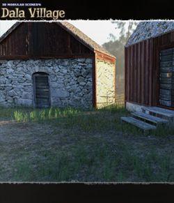 3D Modular Scenery: Dala Village