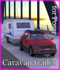 NM-Wohnwagen  Gespann  - Caravan and Car