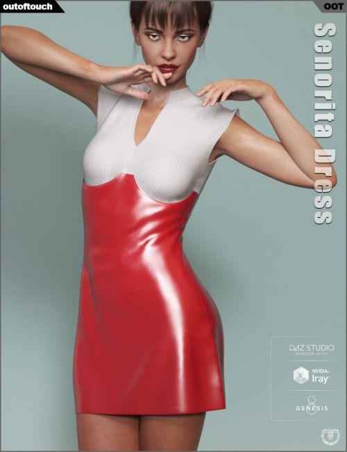dForce Senorita Dress for Genesis 8 Female(s)
