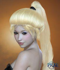 Prae-Onyx Hair V4 M4 and La Femme Poser