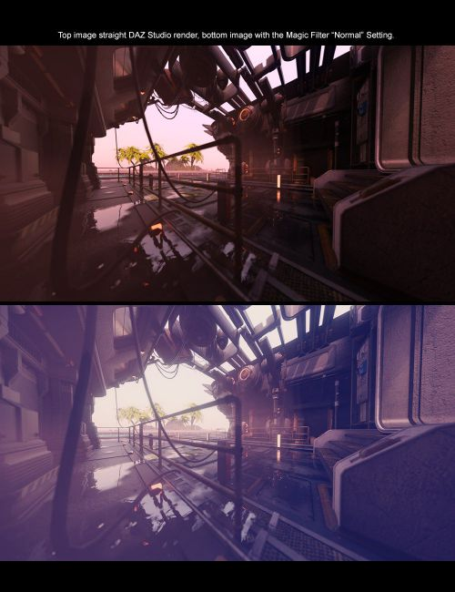 Magic Filter - Photoshop Photorealism for Daz Studio