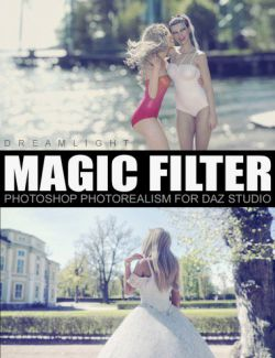 Magic Filter - Photoshop Photorealism for Daz Studio
