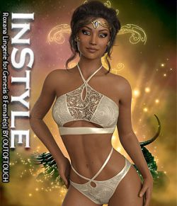 InStyle - Roxana Lingerie for Genesis 8 Females