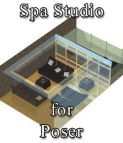 Spa Studio for Poser