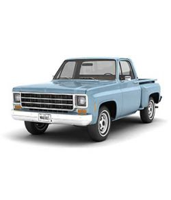 GENERIC STEP SIDE PICKUP TRUCK 10- Extended License