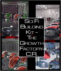 Sci Fi Building Kit- The Growth Factory: Containment Room