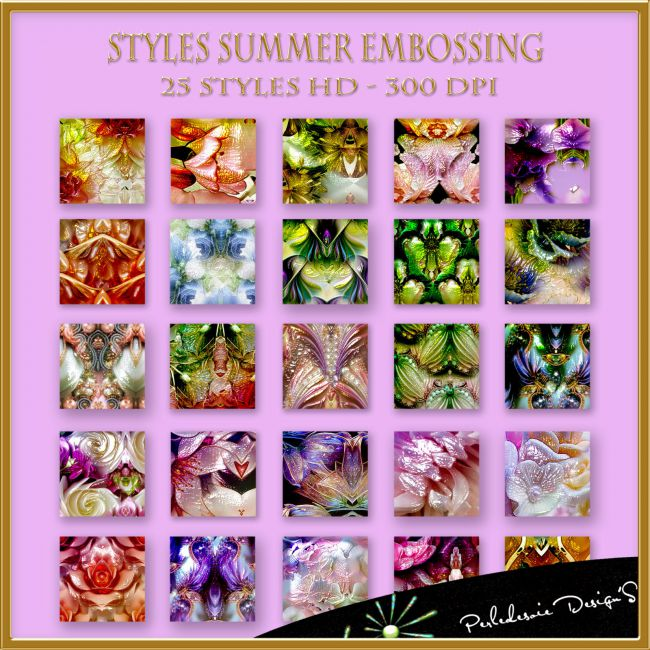 Styles Summer Embossing