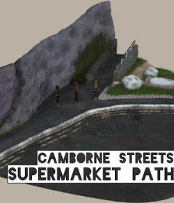 Camborne Streets - Supermarket Path