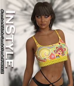 InStyle- dForce Just A Shirt for Genesis 8 Female