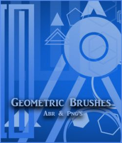 Geometric Brushes - PNGs