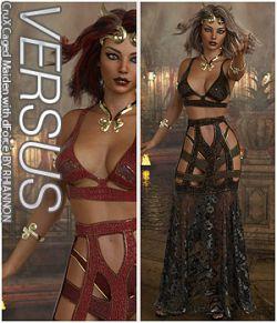 VERSUS - CruX Caged Maiden with dForce