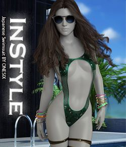 InStyle- Japanese Swimsuit