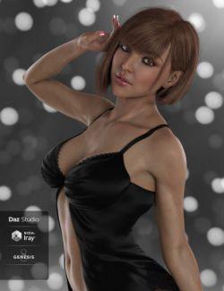 DT- Felicia for Genesis 8 Female