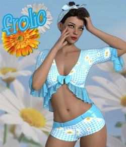 Frolic dForce outfit for Genesis 8 Females