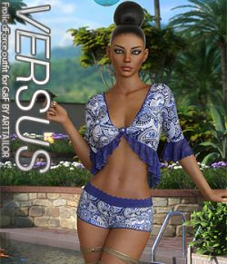 VERSUS- Frolic dForce outfit for G8F