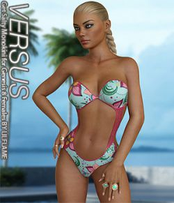 VERSUS - Get Salty Monokini for Genesis 8 Females
