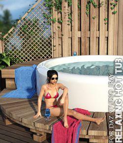 Relaxing Hot Tub Daz Studio