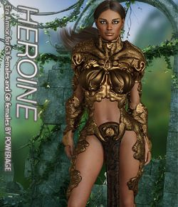 HEROINE - Era Armor for G3 females and G8 females