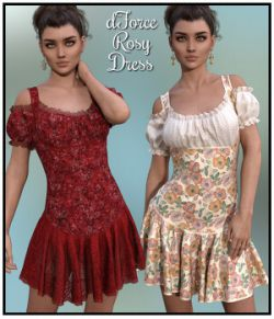 dForce- Rosy Dress for G8F