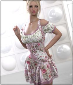 7th Ave: dForce- Rosy Dress for G8F