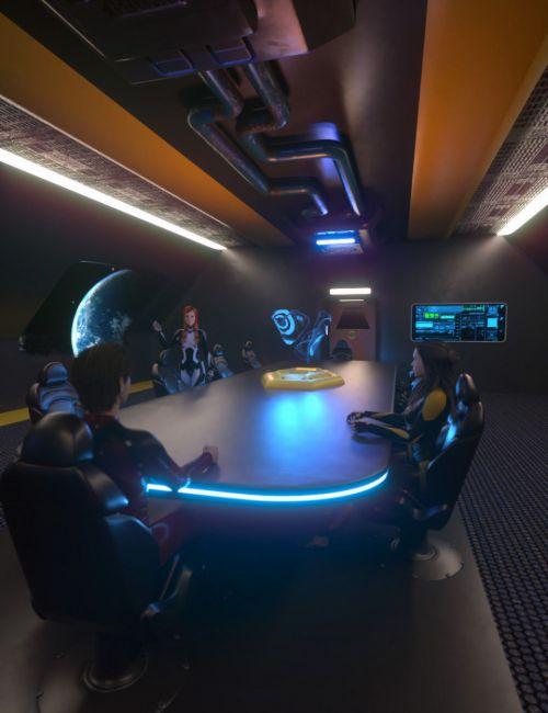 Sci-Fi Starship Briefing Room Volume 1