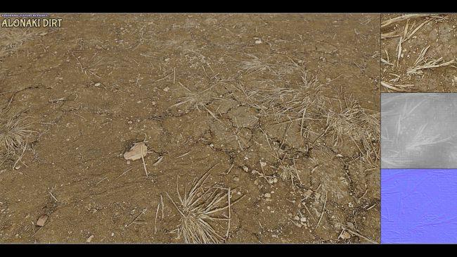 Panoramic Texture Resource: Alonaki Dirt