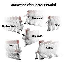 Animations for Nursoda's Doctor Pitterbil
