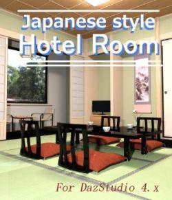 Traditional Japanese-style inn room for DazStudio