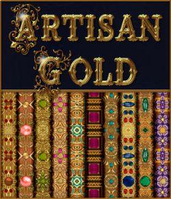 Artisan Gold Seamless Textures Pack