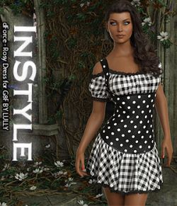 InStyle- dForce- Rosy Dress for G8F