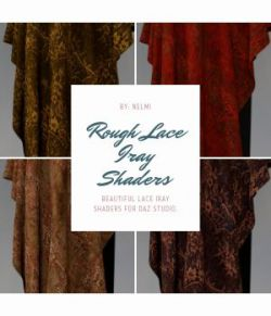 Rough Lace Fabric Iray Shaders