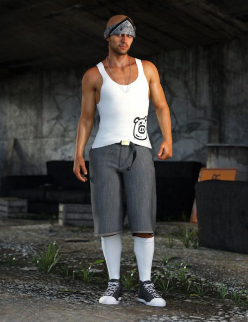 dForce Street Smarts Outfit for Genesis 8 Male(s)