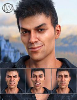 Modern Man - Expressions for Genesis 8 Male and Diego 8