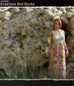3D Scenery: Kokkinos Red Rocks