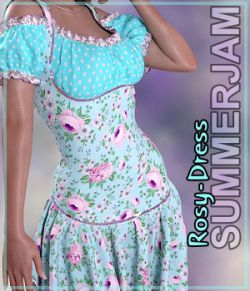 Summerjam- Rosy-Dress