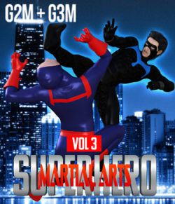 SuperHero Martial Arts for G2M and G3M Volume 3