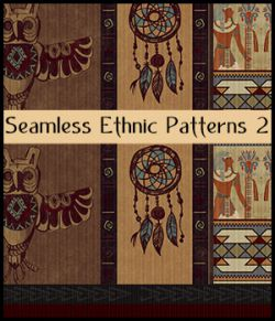Seamless Ethnic Patterns 2