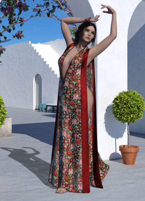 dForce - Aurora Gown for G8F
