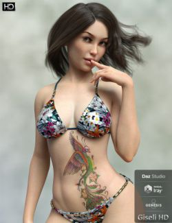 Giseli HD for Genesis 8 Female