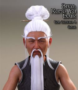 Sifu: Kung Fu Master Hair  for G8M