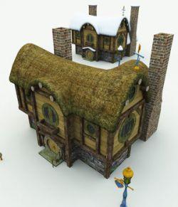 Halfling Village Inn for Vue