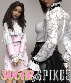 Sugar and Spikes dForce dress for Genesis 8 Females